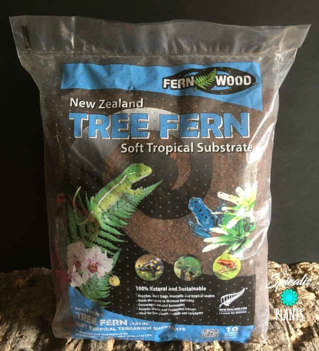 Tree fern substrate bag Xaxim new zealand